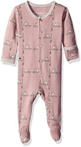 L'ovedbaby Unisex-Baby Newborn Organic Gloved-Sleeve Overall