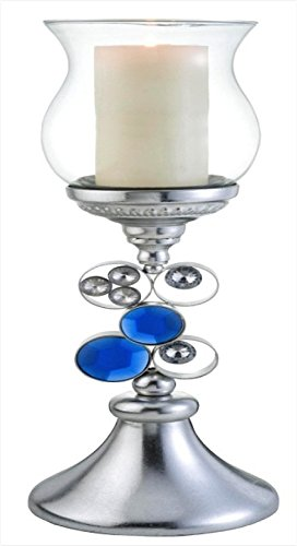 - ORE International K-4259-C3 Just Dazzle Candleholder Without Candle, 20.5-Inch Height