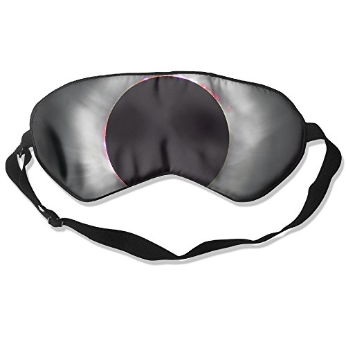 Price comparison product image Sleep Mask Solar Eclipse Eye Cover Blackout Eye Masks,Soothing Puffy Eyes,Dark Circles,Stress,Breathable Blindfold For Women Men