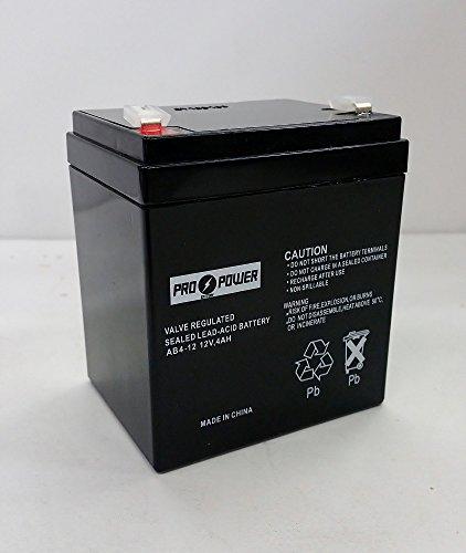 Pro Power 12V 4AH SLA Battery for Tekonsha 1028 Breakaway - Rates Shipping Mail Us