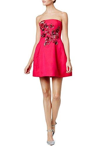 Marchesa Notte Gillian Dress, Hot Pink, 6 ()