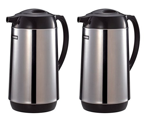 (Zojirushi Polished Stainless Steel Vacuum Insulated Thermal Carafe, 1 liter - 2)