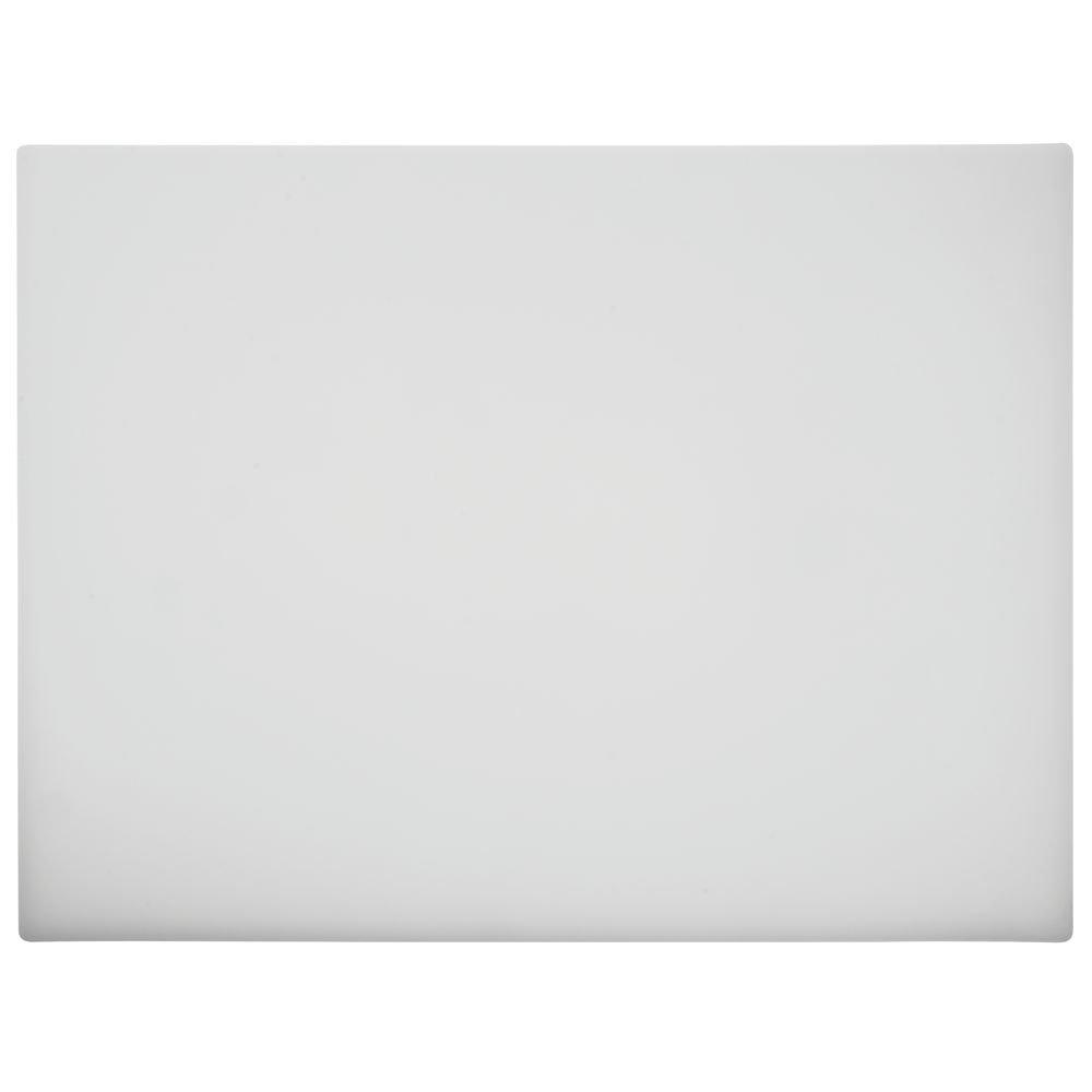 HUBERT Cutting Board White - 18'' L x 24'' W x 1/2 H