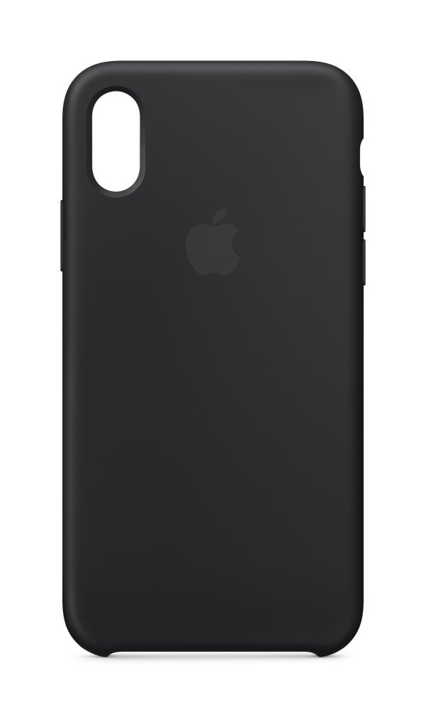 Apple iPhone X Silicone Case - Black
