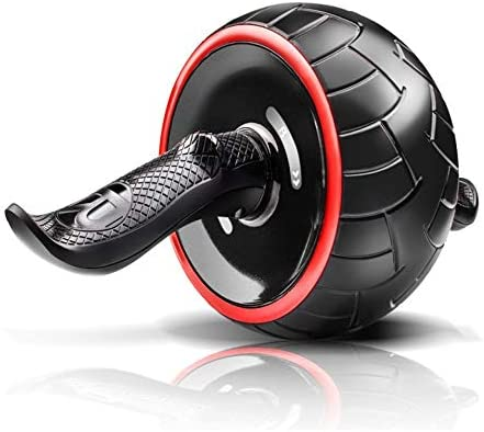 Core & Abdominal Trainers Abdominal Wheel Abdominal Wheel Huge Fitness Roller Mute AB Weight Loss Fitness Equipment For Home Gym Abdominal Trainer Ideal for beginners and experienced people battle rop 1