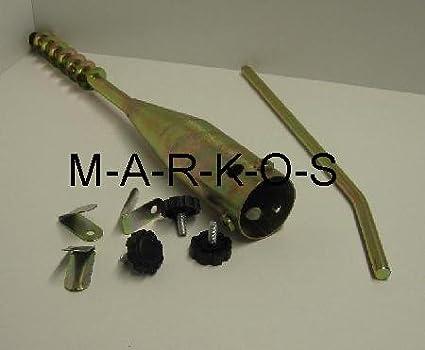 LHS cannel/ées Article 20050 Support de parasol//Porte-parapluie//piquet pour insertion//S/échoir /à Linge Rotatif Support//Pied//m/ât Support de douille de sol m/étal