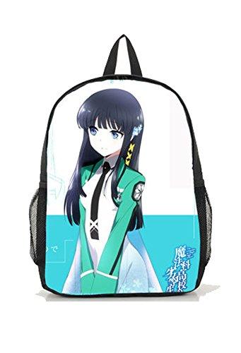 Dreamcosplay Anime The Irregular at Magic High shiba miyuki Backpack Book Bag - Shiba Miyuki Costume