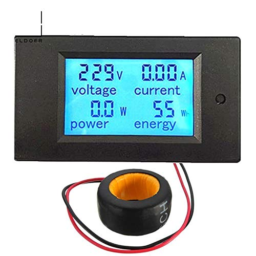 2016 Low Price Electronic Liquid Crystal Display AC 100A Digital LED Power Panel Meter Monitor Power Energy Voltmeter Ammeter
