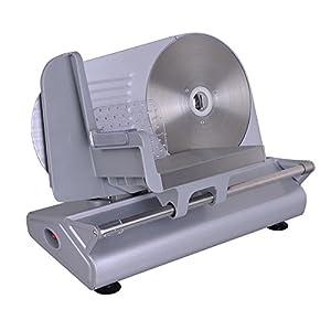 "New 150W 8.5"" Blade Commercial Meat Slicer Electric Deli Slice Veggie Cutter Kitchen"
