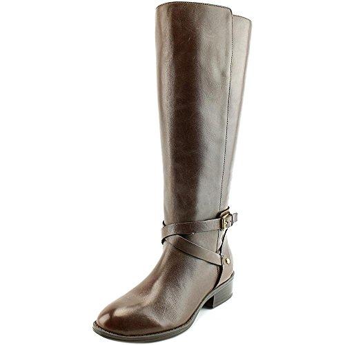 Boots Knee Lauren Lauren Brown by Mariah Women's Ralph Dark High Riding OOq8wFRxn