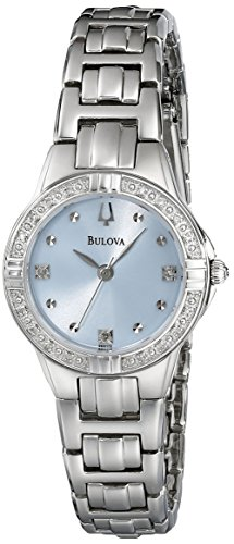 Bulova Women's 96R172 Diamond Case Watch