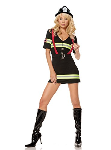 Costumes Woman Fire (Women's Hot Firefighter)