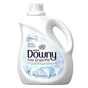 Downy Ultra Liquid Fabric Softener, Free & Sensitive, 103 Oz