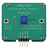 PARALLAX 32213 X-BAND MOTION DETECTOR SENSOR Review