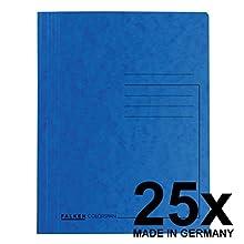 FALKEN rápido grapadora Colorspan para DIN A4, 25 unidades), color azul