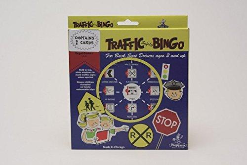 Regal Games Traffic Safety Travel Bingo (2 Cards) - Safety Bingo