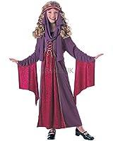 Filles gothique Rubis Princesse Renaissance pour enfant déguisement