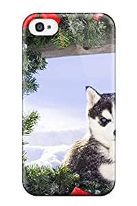 Andre-case Best Iphone 5s fashion Tpu case cover Silicon Bumper A wEY59yWlNjZ Young Malamute And A Crown Of Flowers