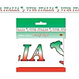 Kitchen & Housewares : Beistle 66187 Viva Italia Party Tape, 3-Inch by 20-Feet