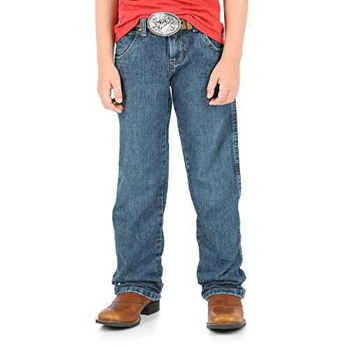 Wrangler Retro Relaxed Fit Straight Leg Jean, Everyday Blue, 7 -
