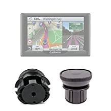 DURAGADGET Anti-Shock / Vibration & Adjustable In-Car Cup Holder Smartphone Mount for Garmin Nuvi 55LM, 57LMT, 57LM, 58LMT, 67LMT, 68LMT And Garmin Camper 660LMT-D *SUCTION MOUNT NOT INCLUDED*