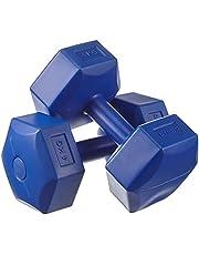 Avessa 4 kg Plastik Dambıl Set, Lacivert, Medium