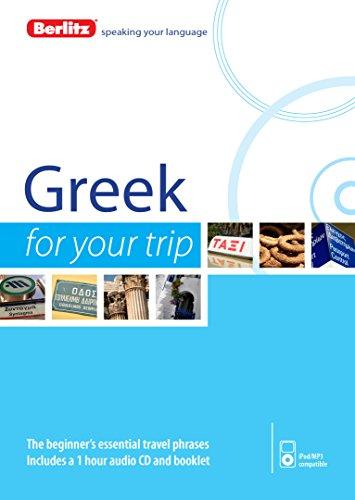 Berlitz Greek For Your Trip (Berlitz For Your Trip)
