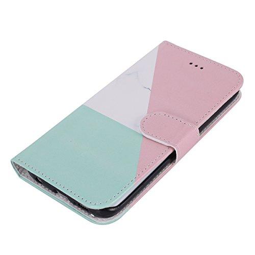 Galaxy Etui avec S6 Galaxy Edge en Protection Coque Cuir Herbests Pochette Galaxy pour Housse téléphone Stand de S6 pour Cuir Housse Edge en etui Magnetique Edge Coque de Raba Marbre Portefeuille S6 Fonction 4xtYq