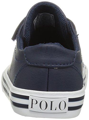 Ez Polo Lauren Ralph Synthetic Slater Trainers Navy Junior Navy cream 5qqtrx