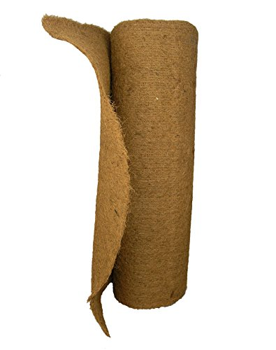 Coco Fiber Roll 20 Ft L x 36'' W - make your own planter liners by Garden Artisans