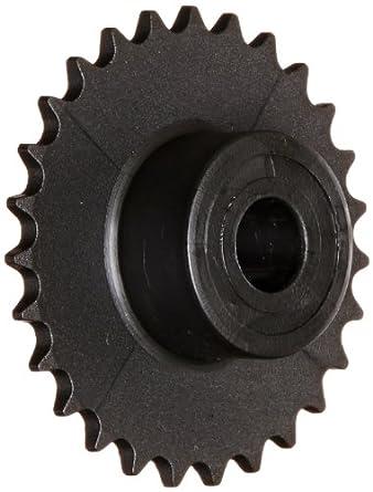 Boston Gear Roller Chain Sprocket, Bored-to-Size, Type B Hub, Single Strand