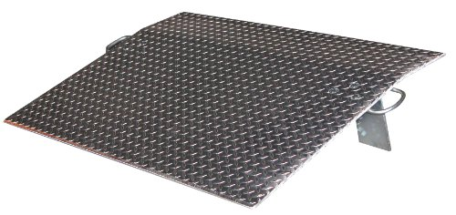 Vestil-EH-3630-Aluminum-Economizer-Dock-Plate-30-Length-36-Usable-Width-12-Plate-Thickness-5100-lb-Capacity
