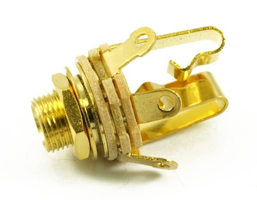 SWITCHCRAFT JACK 1/4 STEREO JACK - GOLD PLATED