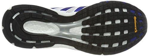 adidas Adizero Boston 6 Aktiv, Scarpe da Fitness Unisex-Adulto Multicolore (Ftwr White/Collegiate Royal/Scarlet)