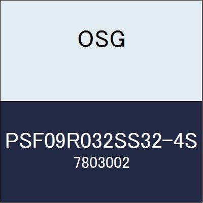 OSG エンドミル PSF09R032SS32-4S 商品番号 7803002  B07BBLDG4Q