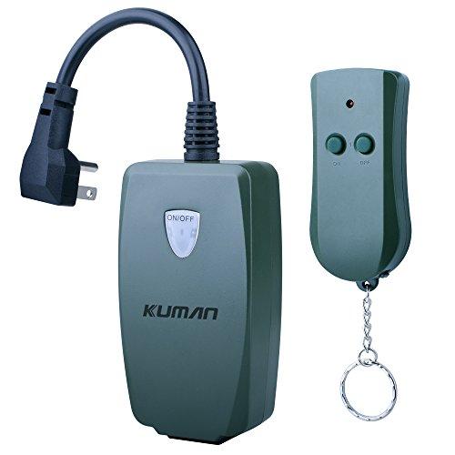Kuman Outdoor Splash proof Wireless Receiver