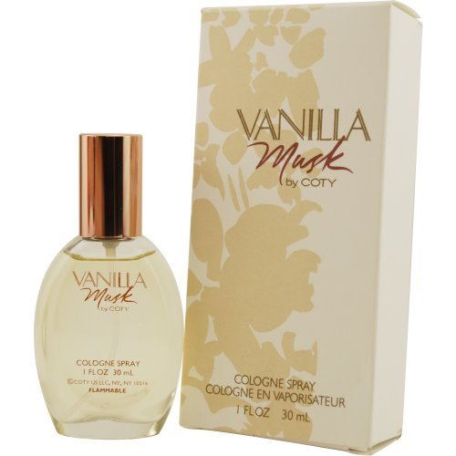 Vanilla Musk By Coty Cologne Spray For Women 1 Ounce (Best Vanilla Scented Perfume)