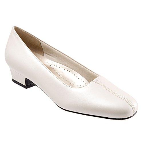 Trotters T3235 Women's Doris Pump Shoe, White Pearl - 9.5 SS (Ss White Pearl)