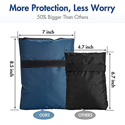 Outdoor Faucet Cover for Winter Freeze Protection Socks Insulation Covers Upgraded Medium Size
