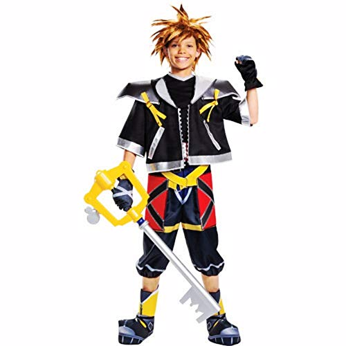 HalloCostume Boys Sora Costume - Kingdom Hearts, Halloween Kids' Boys' Costumes for Children