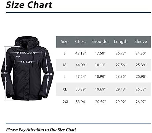 Wantdo Women's 3 in 1 Waterproof Ski Jacket Windproof Winter Snow Coat Snowboarding Jackets Warm Raincoat