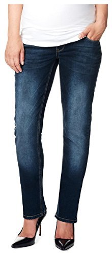 Noppies Bleu c300 Mid Straight Jeans Donna xOwrS1x
