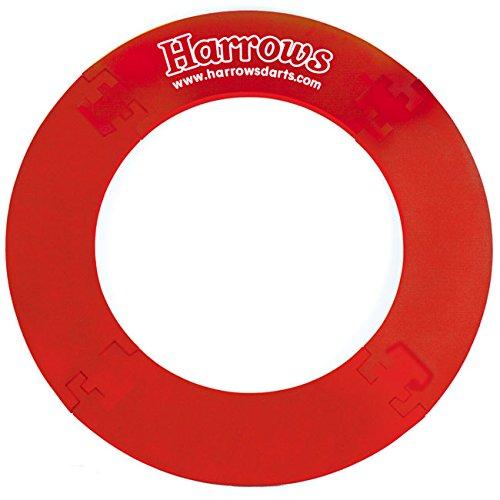 Harrows(ハローズ) ダーツボードサラウンド 4ピース <レッド> (ダーツ アクセサリ)