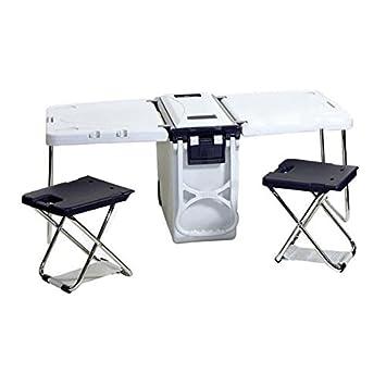carface nevera 18,6l con mesa y dos sillas camping Auto Viaje ...
