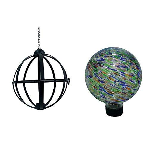 Brkt Ball - Gazing Ball W/Hngng Brkt