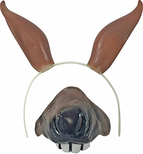 Horse Ears & Nose Costume Set]()