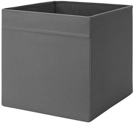 wei/ß W x D x H IKEA Regalfach DR/ÖNA Aufbewahrungsbox Regaleinsatz in 33/x 38/x 33/cm dunkelgrau STORAGE