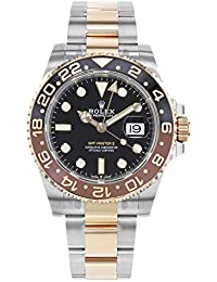GMT-Master II Black Dial Automatic Stainless Steel and 18kt Rose Gold 126711CHNR