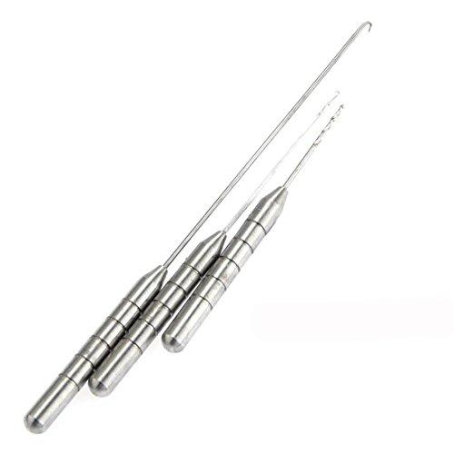 Joylive Coarse Fishing Rigging Needle Set Kit Metal Tackle Tool Swinger Carp Stainless Silver