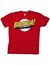 Big Bang Theory Bazinga Adult T-Shirt